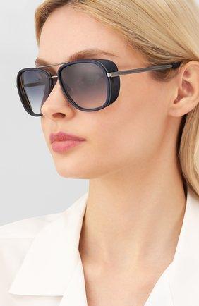 Женские солнцезащитные очки MATSUDA черного цвета, арт. M3023 MAS | Фото 2