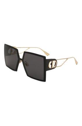 Женские солнцезащитные очки DIOR черного цвета, арт. 30M0NTAIGNE 807 2K | Фото 1