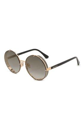 Женские солнцезащитные очки JIMMY CHOO серого цвета, арт. LIL0 RHL | Фото 1