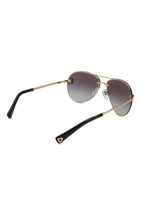 Женские солнцезащитные очки BVLGARI черного цвета, арт. 6137B-20148G | Фото 4