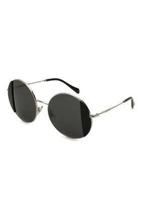 Мужские солнцезащитные очки MIU MIU черного цвета, арт. 57VS-1AB5S0 | Фото 1