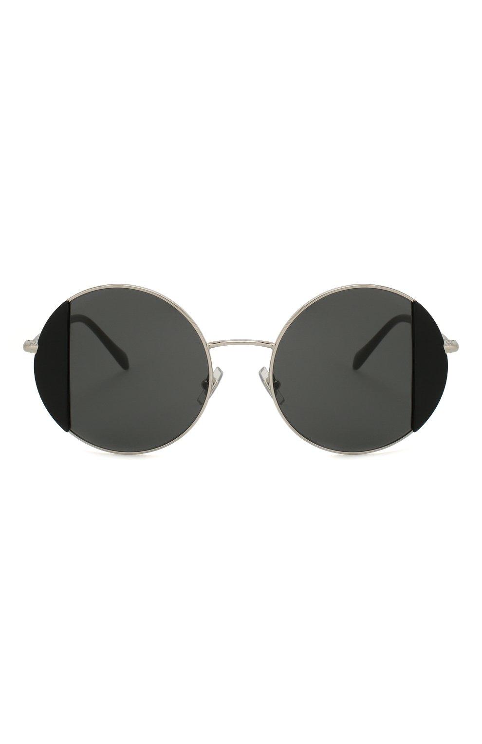 Женские солнцезащитные очки MIU MIU черного цвета, арт. 57VS-1AB5S0 | Фото 3