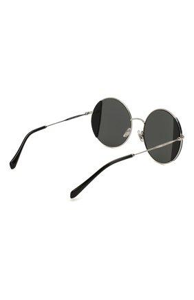 Женские солнцезащитные очки MIU MIU черного цвета, арт. 57VS-1AB5S0 | Фото 4