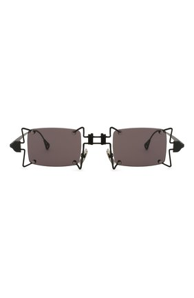 Женские солнцезащитные очки INNERRAUM черного цвета, арт. 099 BM GREY | Фото 3