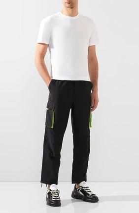 Мужские комбинированные кроссовки RBRSL черного цвета, арт. 7X2162U.V70TX9T001   Фото 2