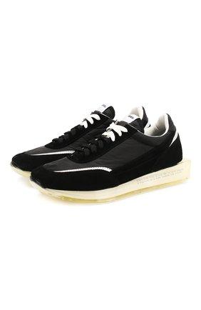 Мужские комбинированные кроссовки RBRSL черного цвета, арт. 7X2256U.V78TXTT001 | Фото 1