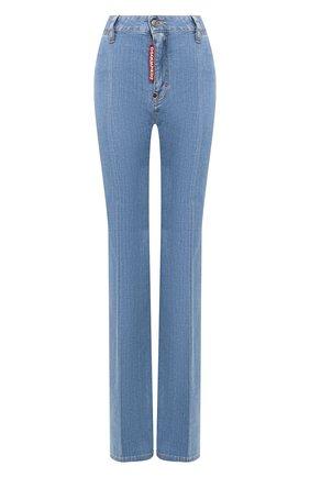 Женские джинсы DSQUARED2 синего цвета, арт. S72LB0274/S30342 | Фото 1
