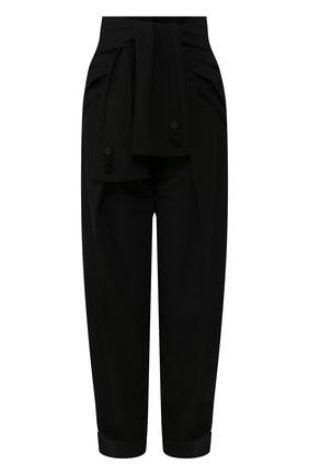 Женские брюки ALEXANDER WANG черного цвета, арт. 1WC1204230 | Фото 1
