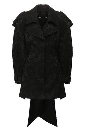 Женский плащ ULYANA SERGEENKO черного цвета, арт. MNC001FW19P (1890т19) | Фото 1