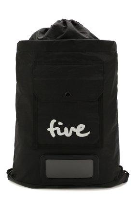 Женский рюкзак 5PREVIEW черного цвета, арт. W512 | Фото 1