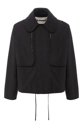 Мужская куртка JIL SANDER черного цвета, арт. JSMQ420101-MQ450800 | Фото 1
