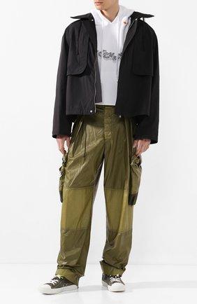Мужская куртка JIL SANDER черного цвета, арт. JSMQ420101-MQ450800 | Фото 2