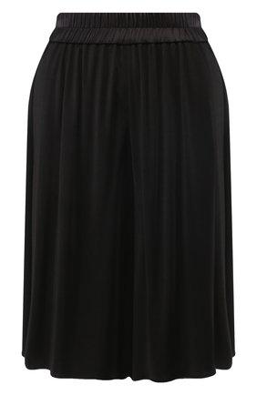 Женские шорты из смеси вискозы и шелка TOM FORD черного цвета, арт. SHJ005-FAX159 | Фото 1