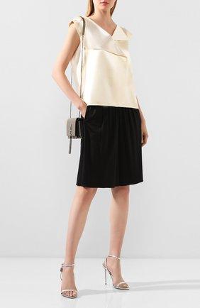 Женские шорты из смеси вискозы и шелка TOM FORD черного цвета, арт. SHJ005-FAX159 | Фото 2
