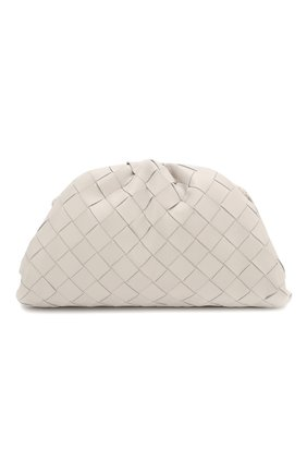Женский клатч pouch 20 BOTTEGA VENETA белого цвета, арт. 585852/VCPP1 | Фото 1