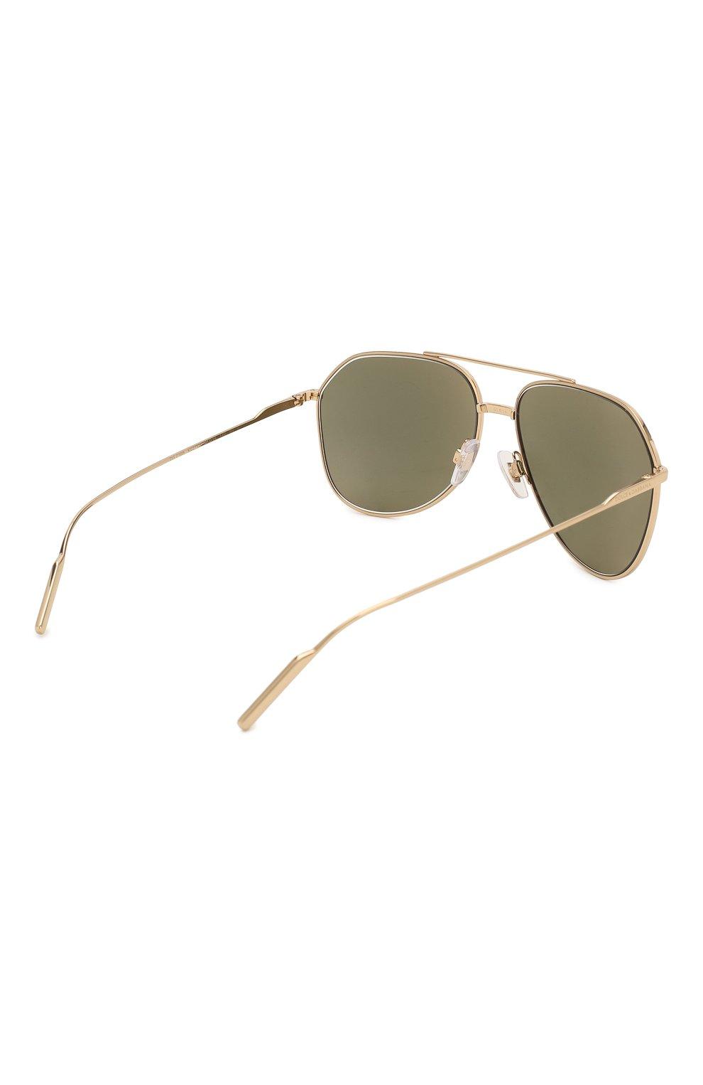 Женские солнцезащитные очки DOLCE & GABBANA золотого цвета, арт. 2166-K02/F9 | Фото 5