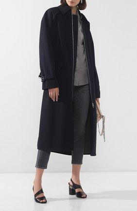 Женские кожаные босоножки VIC MATIE черного цвета, арт. 1X8602D.X34C5XB323 | Фото 2