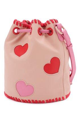 Детская сумка STELLA MCCARTNEY розового цвета, арт. 592970/S0D17 | Фото 2
