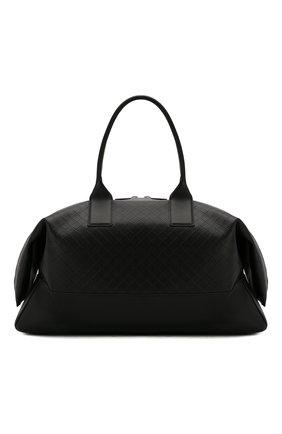 Мужская кожаная дорожная сумка BOTTEGA VENETA черного цвета, арт. 600938/VCRE1 | Фото 1