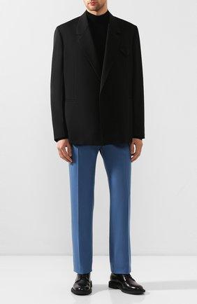 Мужской шерстяной пиджак BOTTEGA VENETA черного цвета, арт. 618164/VKPZ0 | Фото 2