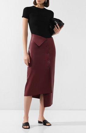 Кожаная юбка | Фото №2