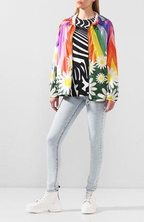 Женская куртка 0 moncler richard quinn MONCLER GENIUS разноцветного цвета, арт. F1-09F-1A705-00-539ZY | Фото 2