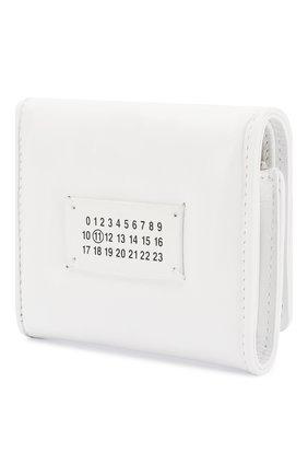 Женские кожаный кошелек MAISON MARGIELA белого цвета, арт. S56UI0138/PS298 | Фото 2