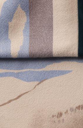Мужского кашемировый плед LORO PIANA разноцветного цвета, арт. FAD4975 | Фото 2