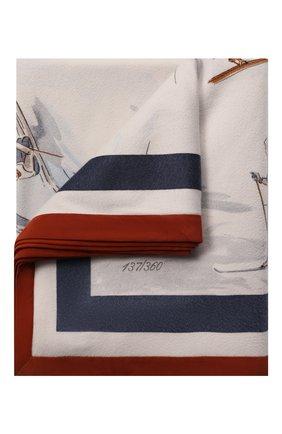 Мужского кашемировый плед LORO PIANA разноцветного цвета, арт. FAF5007 | Фото 1