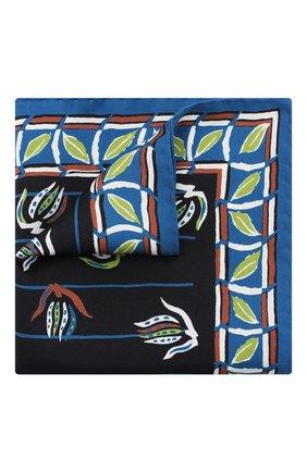 Мужской шелковый платок ETON синего цвета, арт. A000 32489 | Фото 1