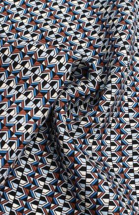 Мужской шелковый платок ETON синего цвета, арт. A000 32485 | Фото 2