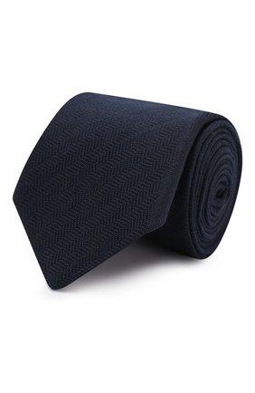 Мужской галстук ETON темно-синего цвета, арт. A000 32478 | Фото 1