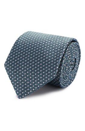 Мужской шелковый галстук ETON бирюзового цвета, арт. A000 32476 | Фото 1