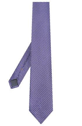 Мужской шелковый галстук ETON фиолетового цвета, арт. A000 32476 | Фото 2