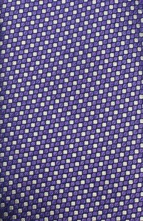 Мужской шелковый галстук ETON фиолетового цвета, арт. A000 32476   Фото 3