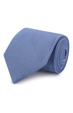 Мужской шелковый галстук ETON голубого цвета, арт. A000 32475 | Фото 1