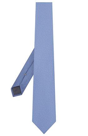 Мужской шелковый галстук ETON голубого цвета, арт. A000 32475 | Фото 2