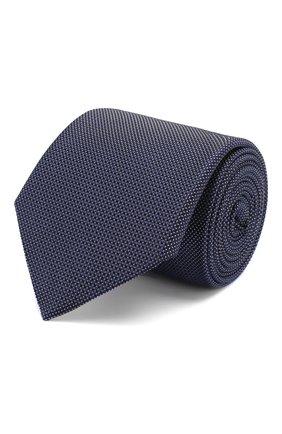 Мужской шелковый галстук ETON темно-синего цвета, арт. A000 32475 | Фото 1