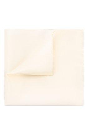 Мужской шелковый платок ETON бежевого цвета, арт. A000 32468 | Фото 1