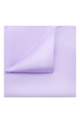 Мужской шелковый платок ETON сиреневого цвета, арт. A000 32468 | Фото 1