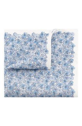 Мужской шелковый платок ETON голубого цвета, арт. A000 32464 | Фото 1