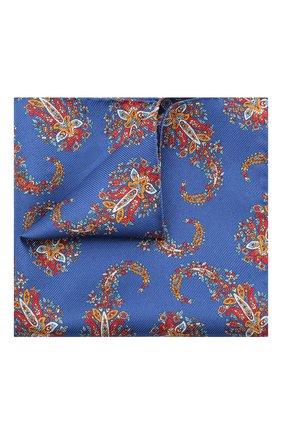 Мужской шелковый платок ETON синего цвета, арт. A000 32463 | Фото 1
