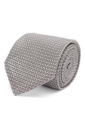 Мужской шелковый галстук ETON серого цвета, арт. A000 32443 | Фото 1
