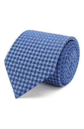 Мужской шелковый галстук ETON голубого цвета, арт. A000 32404 | Фото 1