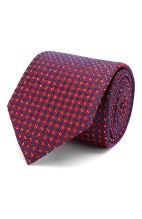 Мужской шелковый галстук ETON красного цвета, арт. A000 32404 | Фото 1
