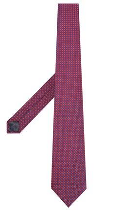 Мужской шелковый галстук ETON красного цвета, арт. A000 32404 | Фото 2