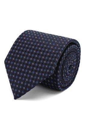 Мужской шелковый галстук ETON синего цвета, арт. A000 32404 | Фото 1
