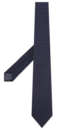 Мужской шелковый галстук ETON синего цвета, арт. A000 32404 | Фото 2