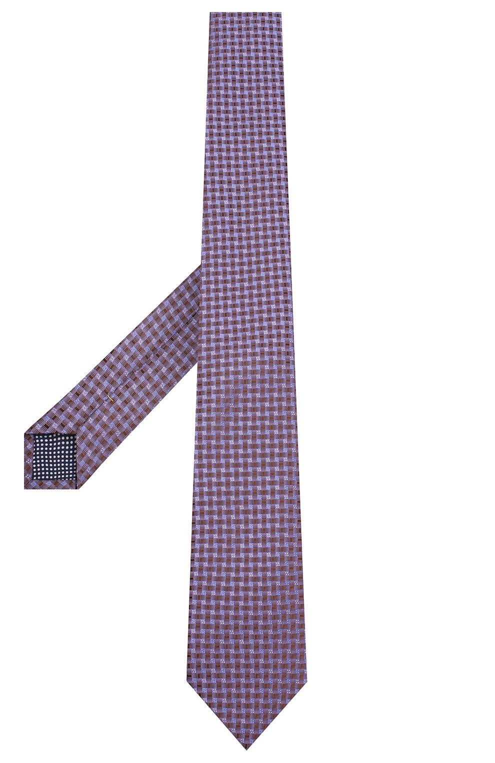 Мужской шелковый галстук ETON сиреневого цвета, арт. A000 32404 | Фото 2