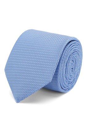 Мужской шелковый галстук ETON голубого цвета, арт. A000 32400 | Фото 1